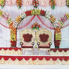 reception decorations hyderabad
